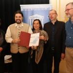 Unesco Urkundenverleihung 1.12.2012